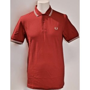 Jeremys Graz Fred Perry Polo rot