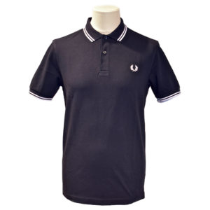 Jeremys Graz Fred Perry Polo navy