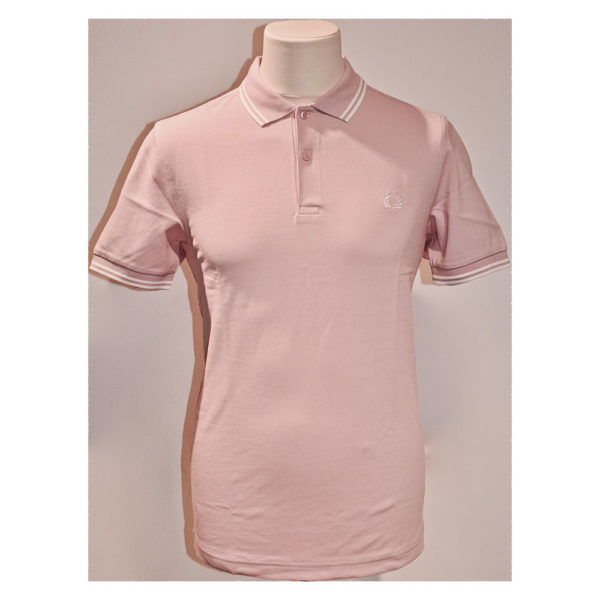 Jeremys Graz Fred Perry Polo rosa